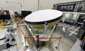 Από την προετοιμασία του LDSD πριν από τη δοκιμή (Πηγή: NASA)