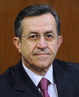 Νίκος Νικολόπουλος Βουλευτής Αχαΐας και Πρόεδρος του Χριστιανοδημοκρατικού Κόμματος Ελλάδος
